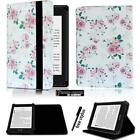 Folio Stand Leather Cover Case For Amazon kindle 4/5/7/8/9 Paperwhite 1/2/3/4