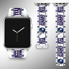 New York Giants Apple Watch Band 38 40 42 44 mm Series 5 1 2 3 4 Wrist Strap 05 $29.99 USD on eBay
