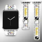 Pittsburgh Steelers Apple Watch Band 38 40 42 44 mm Series 1 2 3 4 Wrist Strap 5 on eBay