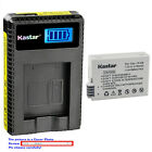 Kastar Battery LCD USB Charger for Canon LP-E8 LC-E8 & Canon EOS 700D Camera