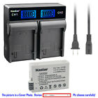 Kastar Battery LCD Rapid Charger for Canon LP-E8 LPE8 Canon EOS Rebel T3i Camera