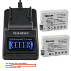 Kastar Battery LCD Quick Charger for Canon LP-E8 LC-E8 & Canon EOS 600D Camera