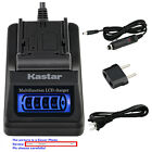 Kastar Battery LCD Quick Charger for Canon LP-E8 LC-E8 Canon EOS Kiss X4 Camera
