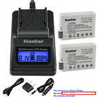 Kastar Battery LCD Fast Charger for Canon LP-E8 LC-E8 & Canon EOS 550D Camera
