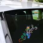 Funny Butterfly Flying Car Sticker Auto Vinyl Laptop Motorcycle Window Decal