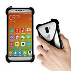 For Various smartphone Silicone Case Cover Skin Ring Holder Stand Etui Bumper