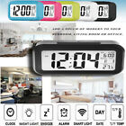 Fashion Digital Alarm Clock Small Portable Desk Morning Travel Large LCD screen