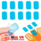 Hydrogel Gel Stickers For EMS Trainer Muscle Abdominal Stimulator Gel Pads US image