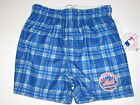 New York Mets Team Color Plaid Flannel Boxer Shorts - Child & Youth Sizes on Ebay