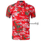 Fashion Hawaiian Shirt Mens Flower Beach Aloha Party Casual Holiday Short Sleeve <br/> Fashion✔ Fast Ship ✔High Quality✔610+sold✔