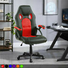 Swivel Pu Leather Mesh Office Racing Gaming Style Computer Desk Tilting Chair