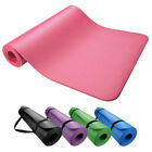 Внешний вид - 6mm Yoga Mat Thick NBR Non-slip Pilates Workout Fitness Exercise Pad Gym Workout
