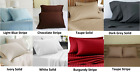 100% Cotton 4-Piece Bed Sheet Flat Sheet/Fitted Sheet/Pillowcase 400 TC Offer CL image