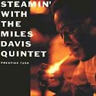 MILES DAVIS: STEAMIN' WITH THE MILES DAVIS QUINTET CD! W/WHEN I FALL IN LOVE! EX