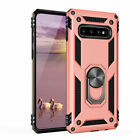 For Samsung Galaxy S10/Plus/S10e Magnetic w/ Metal Ring Holder Stand Case Cover