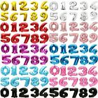"""40"""" 32"""" 16"""" Giant Foil Number Balloons Letter Birthday Age Party Wedding Helium"""