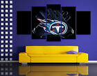 HD Printed Sports Oil Painting Home Wall Decor Art On Canvas Tennessee Titans $26.0 USD on eBay