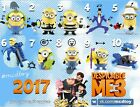 McDonalds Russia Toy Happy Meal 2017 Minions Despicable Me 3