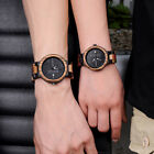 BOBO Bird Ladies Wooden Watches Week Date Quartz Couples Wood Watch Men Women  image