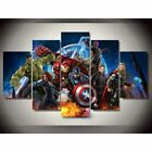 Captain Marvel Avengers Poster Painting Wall Art Pictures Canvas Home Decor