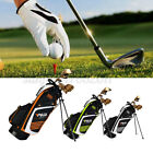 Golf Stand Cart Bag Full Length Divider,Shoulder Strap,14 Pocket w/ Wheel Design