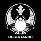 star wars the last jedi PORG resistance t-shirt screen printed ladies fitted $16.0 USD on eBay