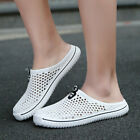 Mens Slippers Hollow-out Sneakers Sandals Flats Sport Shoes Slip on Beach Hiking