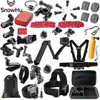 SnowHu for Gopro Accessories set for go pro hero 7 6 5 4 3 kit 3 way selfie