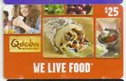 Qdoba Mexican Grill Restaurant Gift Cards - Collectible Only - Your Choice!