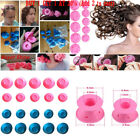 10-50 Pcs Magic Soft Rollers Silicone No Heat Hair Curlers Hair Care DIY