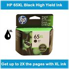 HP 65XL High-Yield Single Ink Cartridge in Box (Black or Tri-Color), EXP 2020