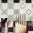 Self-adhesive Mosaic Tile Sticker Home Kitchen Vintage Marble Effect Wall Decor