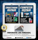 Computer Smartphone Tablet Repair window graphics sign banner iphone pc android