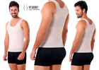 Colombian Men's Compression Undershirt Full Back and Lumbar Support Girdle