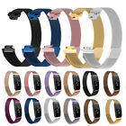 For New Inspire & Inspire HR Stainless Steel Metal Strap Watch Band Wristband image