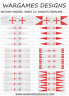 More images of 15mm Knights Templars Flags - Sheet 12 - Lion Rampant, FOG, DBA, Hail Caesar