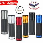 "Motorcycle Handle Bar Hand Grips Rubber Gel For 7/8"" 22mm Yamaha YZF Sport Bikes $5.79 USD on eBay"