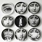 8/10-Inch Fornasetti Plate Plates Home Art Vintage Milano Piero Italy Dinner New