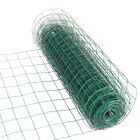 Grid Square Wire Mesh Animal Fence Green Pvc Coated Steel Garden Netting 2mm