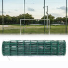 2mm Pvc Coated Green Wire Mesh Fencing Green Galvanised Garden Fence Rolls Large