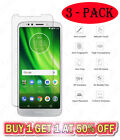 3 Pack Tempered Glass Screen Protector For Motorola MOTO E5 G7 X4 Z4 3 Plus Play