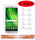 3 Pack Tempered Glass Screen Protector For Motorola MOTO E6 G7 X4 Z4 5 Plus Play