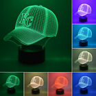 KANSAS CITY ROYALS Baseball Cap Remote 3D LED Night Light Home Decor Table Lamp on Ebay
