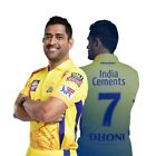 Chennai Super Kings (CSK) - Official Dhoni Player Jersey 2019