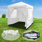 Gazebo Marquee Canopy Pop-up Waterproof Garden Wedding Party Tent w/Sides 2Mx2M