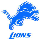 Detroit Lions Logo NFL Vinyl Decal Sticker + BOGO $10.0 USD on eBay