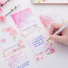Creative Sakura Shape Sticky Notes Memo Pad Office Planner Stickers Stationery