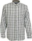 PERCUSSION TRADITION LONG SLEEVE CHECK SHIRT, COLOUR BROWN/GREEN