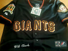 NEW Black Majestic SF Giants Throwback #22  Will Clark 2Patches stitched Jersey on Ebay