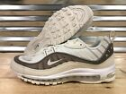 Nike Air Max 98 SE Running Shoes Sail Sepia Stone Snakeskin SZ ( AO9380-100 )